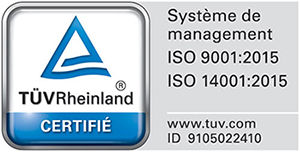Certifications TUV-ISO